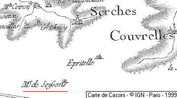 Domaine du Temple à Mont-de-Soissons