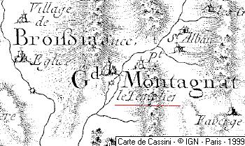 Temple de Montagna-le-Templier