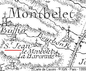 Maison du Temple de Montbellet