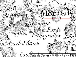 Maison du Temple de Monteils