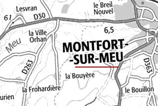 Domaine du  Temple de Montfort