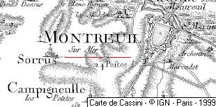 Maison du Temple de Montreuil-sur-Mer