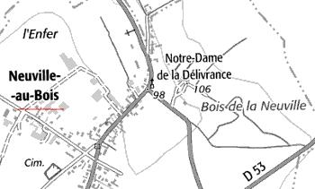 Domaine du Temple de Neuville-au-Bois