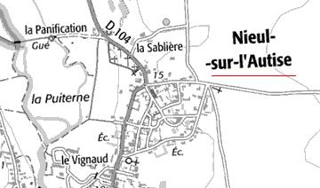 Domaine du Temple à Nieul-sur-l'Autize
