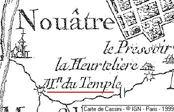 Maison du Temple de Nouâtre