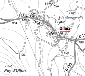 Maison du Temple d'Olloix