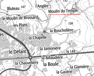 Moulin du Temple de Parthenay