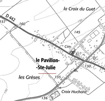 Domaine du Temple de Pavillon-Sainte-Julie