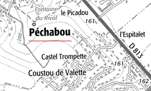 Maison du Temple de Pechabou