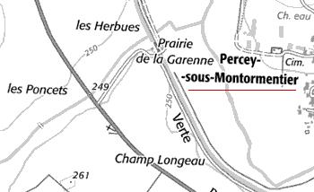 Domaine de Percey-sous-Montormentier