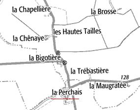 Maison du Temple La Perchais