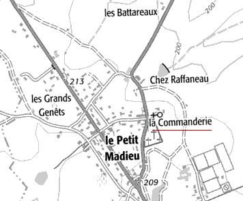 Maison du Temple Le Petit Madieu