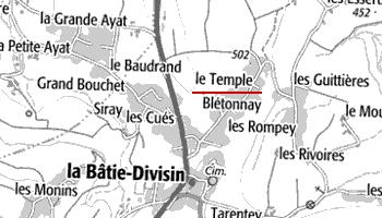 Maison du Temple de Planaise ou Le Temple