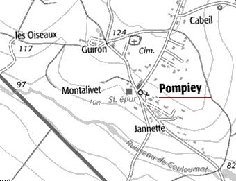 Domaine du  Temple de Pompiey