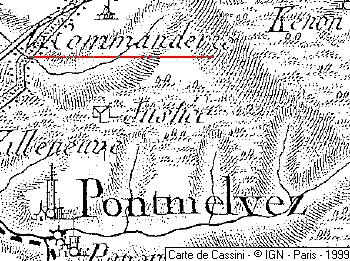 Maison du Temple de Pont-Melvez