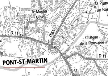 Maison du Temple de Pont-Saint-Martin