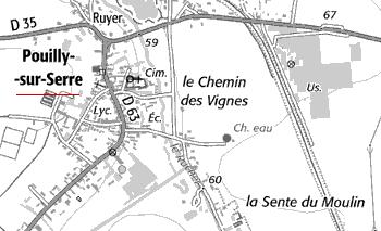 Moulin du Temple de Pouilly-sur-Serre