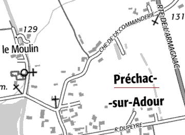 Domaine du Temple de Préchac-sur-Adour