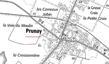 Maison du Temple de Prunay
