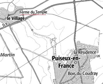 Maison du Temple de Puiseux-en-France