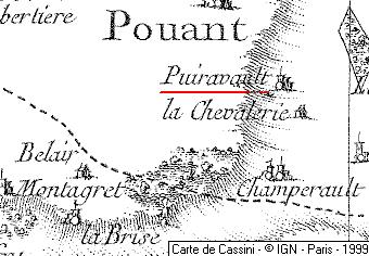 Maison du Temple de Puyraveau