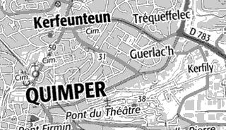 Maison du Temple de Quimper