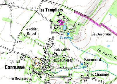 Bien du Temple à Les Templiers