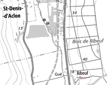 Fiefs et domaines Temple de Ribeuf