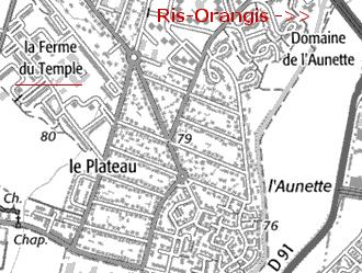 Maison du Temple d'Orangis