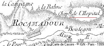 Maison du Temple de Rocamadour ou de l'Hospitalet