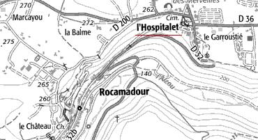 Rocamadour ou de l'Hospitalet