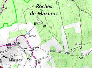Chapelle du Temple Les Roches-Mazuras