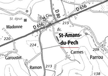 Domaine du Temple de Saint-Amans-du-Pech