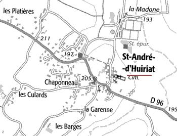 Domaine du Temple de Saint-André-D'Huiriat