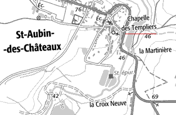 Domaine du Temple de Saint-Aubin-des-Châteaux