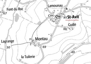 Domaine du Temple de Saint-Avit