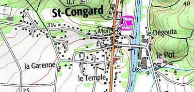 Domaine du Temple à Saint-Congard