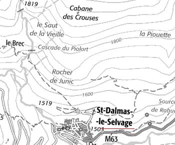Domaine du Temple de Saint-Dalmas-le-Selvage