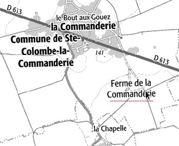 Maison du Temple de Saint-Etienne de Renneville