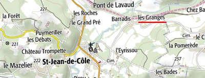 Domaines du Temple à Saint-Jean de Côle