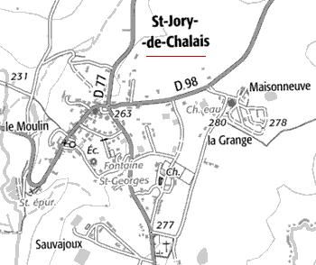 Domaine du Temple de Saint-Jory-de-Chalais