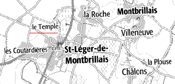 Maison du Temple de Saint-Léger-de-Montbrillais