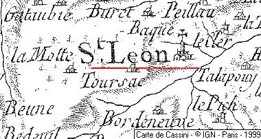 Localisation: Saint-Léon