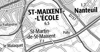 Domaine du Temple de Saint-Maixent