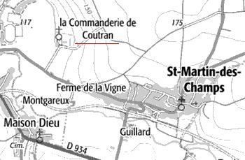 Saint-Martin-des-Champs ou Maison du Temple de Coutran