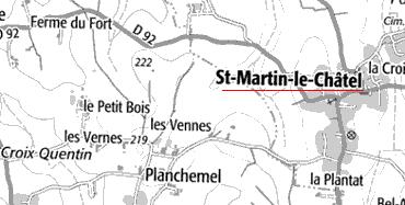Maison du Temple de Saint-Martin-le-Châtel