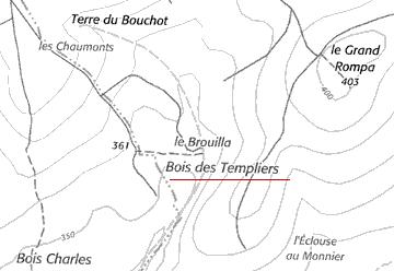 Le Bois des Templiers