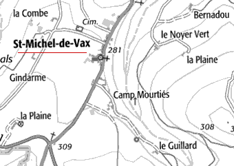 Domaine du Temple de Saint-Michel-de-Vax