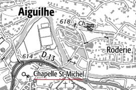 Domaine du Temple des Grottes d'Aiguilhe