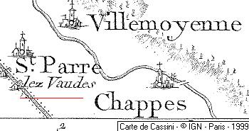 Domaine du Temple de Saint-Parres-lès-Vaudes